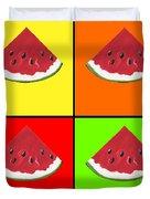 Tiled Watermelon Duvet Cover