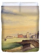 Saint Andrews Golf Course Scotland - 18th Hole Duvet Cover