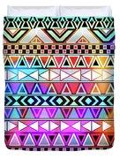 Tribal Pattern 08 Duvet Cover