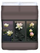 Lotus Collection II Duvet Cover