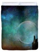 Planetary Soul Chava Duvet Cover