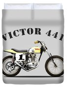 The Bsa 441 Victor Duvet Cover