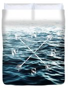 Winds Of The Sea Duvet Cover