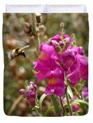 Landing Bumblebee Duvet Cover by Ivana Westin