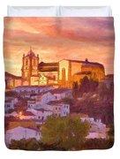 Silves, The Algarve Duvet Cover