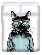 Cool Cat Duvet Cover