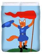 Reynard The Fairy Tale Fox Duvet Cover