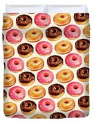 Donut Pattern Duvet Cover