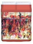 Marrakech Market Duvet Cover