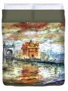 Amritsar Palace Duvet Cover