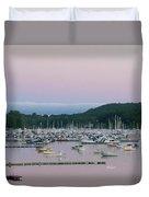 Sunrise Over Mallets Bay Variations - Two Duvet Cover