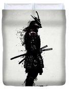 Armored Samurai Duvet Cover