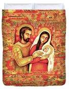Holy Family Duvet Cover