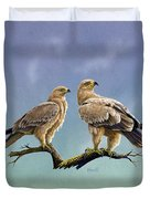 Tawny Eagles Duvet Cover
