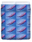 Western Banded Gecko Duvet Cover