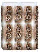 Wild Friendly Gopher Snake Duvet Cover