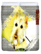 Wheaten Scottish Terrier - During Sickness And Health Duvet Cover