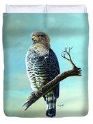 Southern Banded Snake Eagle Duvet Cover