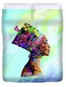 Queen Nefertiti Duvet Cover