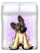 Kiniart Shepherd Puppy Duvet Cover