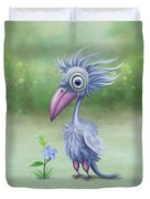 Beauty Is Subjective Duvet Cover by Ivana Westin