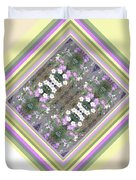 Hill Of Flowers Double Duvet Cover