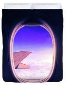 Travel The World Duvet Cover
