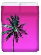 Palm Tree Puerto Rico Duvet Cover