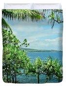 Nahiku Kaelua Hanawi Honolulunui Maui Hawaii Duvet Cover