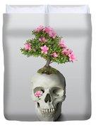 Bonsai Skull Duvet Cover by Ivana Westin