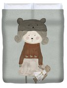 Lucy Bear Duvet Cover