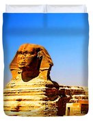 The Great Sphinx Of Giza Duvet Cover