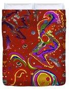Xtine's Nebula 1 Duvet Cover