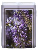 Beautiful Wisteria A Spring Delight Duvet Cover