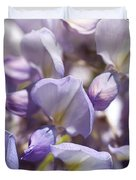 Beautiful And Magical Wisteria  Duvet Cover
