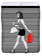Stripes In Fashion Duvet Cover