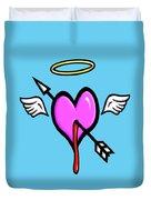 Cupids Heart Duvet Cover