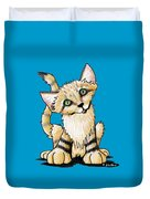 Sand Cat Duvet Cover
