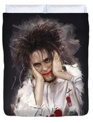 Robert Smith - The Cure Duvet Cover