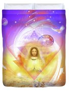 Miracle Blessing Duvet Cover
