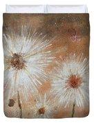 Summer Dandelions Duvet Cover