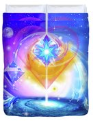 Heart Of The Galaxy Duvet Cover