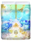 The Divine Masculine Duvet Cover