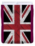 Union Jack Flag Deco Swing Duvet Cover