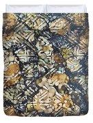 Bark Batik Ink #22 Duvet Cover