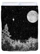 Winter's Night Duvet Cover