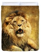 The King Duvet Cover by Angela Doelling AD DESIGN Photo and PhotoArt