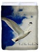 Feel The Freedom Duvet Cover