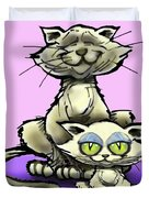 Cat N Kitten Duvet Cover