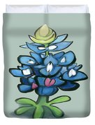 Bluebonnet Duvet Cover